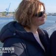 """Aude et Christopher - """"L'amour est dans le pré 2018"""" sur M6. Le 5 novembre 2018."""