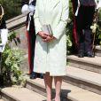 Doria Ragland - Les invités à la sortie de la chapelle St. George au château de Windsor, Royaume Uni, le 19 mai 2018.