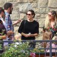 Jennifer Garner et son ex Ben Affleck se retrouvent avec leurs enfants Violet, Seraphina et Samuel après la messe dominicale à Pacific Palisades, le 4 novembre 2018.