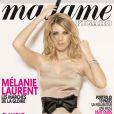 Mélanie Laurent en une de  Madame Figaro  (édition du 16 mai 2009)