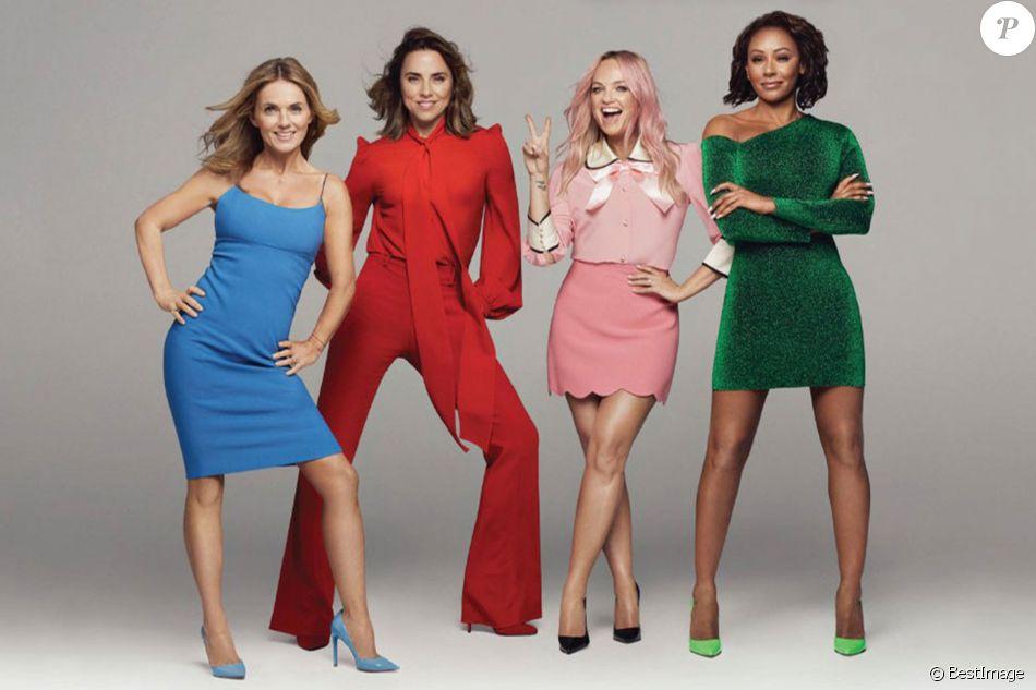Les Spice Girls (Melanie Brown, Emma Bunton, Geri Horner et Melanie Chisholm) annoncent leur prochaine tournée sans V. Beckham.
