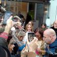 Geri Halliwell, Mel B (Melanie Brown) - Les Spice Girls à la sortie des studios de Global Radio à Londres. Le 7 novembre 2018.