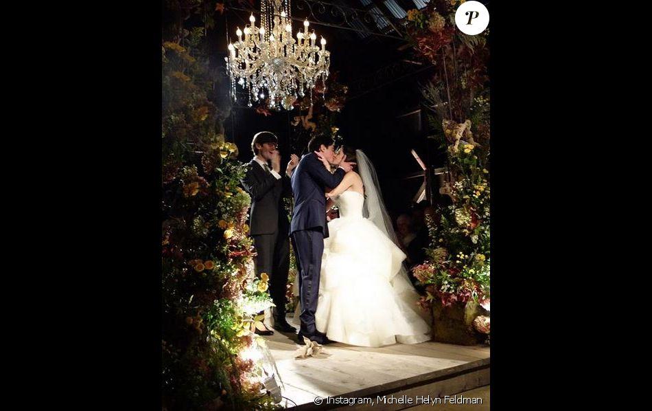 Ben Feldman et son épouse Michelle Helyn Feldman.