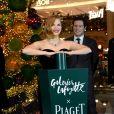 Jessica Chastain - Inauguration du Grand Sapin de la Maison Piaget aux Galeries Lafayette Paris Haussmann. Paris, le 7 novembre 2018. © Veeren/Bestimage