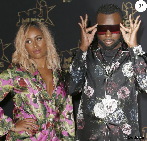 Demdem, Maitre Gims - 20ème cérémonie des NRJ Music Awards au Palais des Festivals à Cannes. Le 10 novembre 2018 © Christophe Aubert via Bestimage