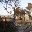 """Les collines de Malibu dévastées par le Woolsey Fire à Los Angeles. Deux jours après le début de l'incendie qui ravage le sud de la Californie, les collines de Malibu, qui abritent les plus belles villas de la côte ouest, sont méconnaissables... 31 personnes sont mortes dans les incendies qui ravagent l'État. Seul le """"Griffith Park Fire"""" de 1933 avait été aussi meurtrier. Le 11 novembre 2018"""
