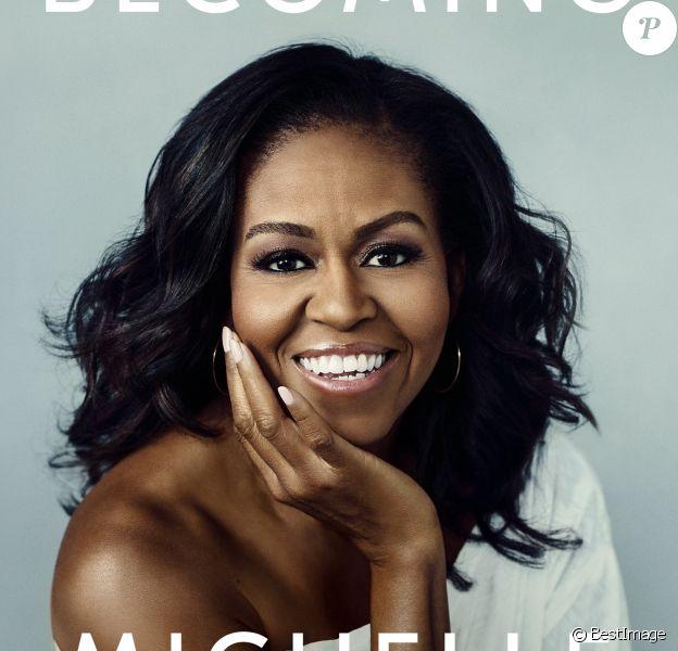 """Le livre de Michelle Obama """"Becoming"""" aux éditions Penguin Random House, paru le 13 novembre 2018."""