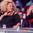 """Marianne James et Sugar Sammy - """"La France a un incroyable talent 2018"""", le 6 novembre 2018 sur M6."""
