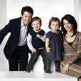 Mary de Danemark et son mari le prince héritier Frederik de Danemark avec leurs enfants Christian et Isabella