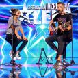 "Manu et Louna - ""La France a un incroyable talent 2018"", sur M6. Le 13 novembre 2018."
