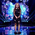 "Emma dans ""The Voice Kids 5"" sur TF1, le 30 septembre 2018."
