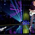 """Alexander dans """"The Voice Kids 5"""" sur TF1, le 30 novembre 2018."""