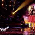 """Irma dans """"The Voice Kids 5"""" sur TF1 le 30 novembre 2018."""