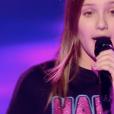 """Carla dans """"The Voice Kids 5"""" sur TF1, le 30 novembre 2018."""