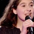 """Ermonia dans """"The Voice Kids 5"""" sur TF1, le 30 novembre 2018."""