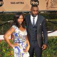 "Idris Elba et sa fille Isan Elba - 22e ""Annual Screen Actors Guild Awards"" à Los Angeles. © CPA /BESTIMAGE"