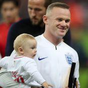Wayne Rooney avec sa femme et leurs quatre garçons pour une grande dernière