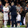 Wayne Rooney lors de son dernier match avec l'Angleterre le 15 novembre 2018 contre les Etats-Unis, au Stade de Wembley.