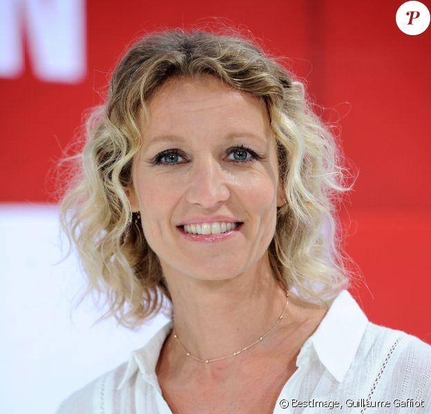 """Exclusif - Alexandra Lamy - Enregistrement de l'émission """"Vivement Dimanche"""" à Paris le 27 aout 2018 © Guillaume Gaffiot/Bestimage"""