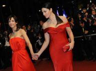 Monica Bellucci et Sophie Marceau au sommet du glamour en robes du soir...