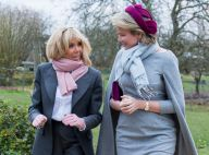Brigitte Macron : Un duo complice et concerné avec la reine Mathilde de Belgique