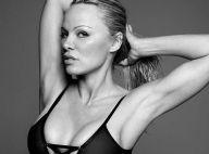 """Pamela Anderson nue sous un top transparent : """"Personne n'est honnête à 100%"""""""