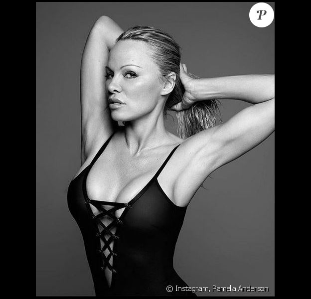 Pamela Anderson. Novembre 2018.
