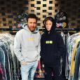 David et Elvis Guetta. Février 2018/Août 2017.
