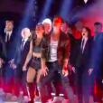 """Clément Rémiens et Denitsa Ikonomova dans """"Danse avec les stars 9"""" sur TF1, le 1er décembre 2018."""