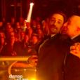 """Camille Combal et Vincent Moscato dans """"Danse avec les stars 9"""" sur TF1, le 1er décembre 2018."""