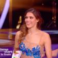 Iris Mittenaere et Anthony Colette après leur 3e danse de finaliste, le 1er décembre 2018 sur TF1.