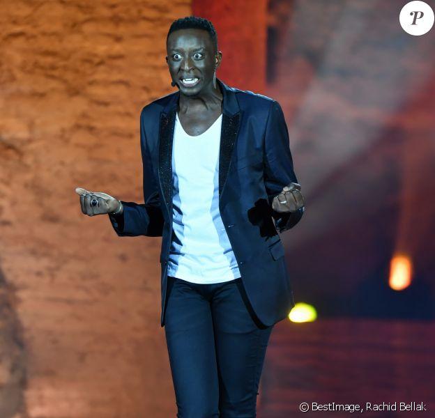 """Exclusif - Ahmed Sylla - Festival """"Marrakech du Rire 2018"""" à Marrakech, Maroc, le 24 juin 2018. © Rachid Bellak/Bestimage"""