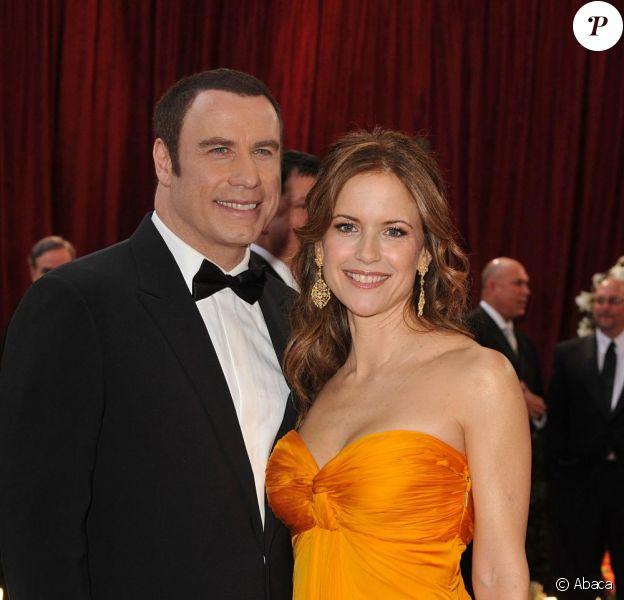 Johna Travolta et Kelly Preston