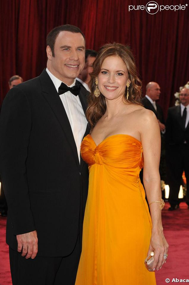 Johna Travolta et Kelly Preston