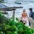 Exclusif - Mariage de Malin Akerman et Jack Donnelly à Tulum au Mexique, le 1er décembre 2018.