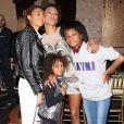 Exclusif - Mel B et ses enfants Phoenix Gulzar, Angel Brown, Madison Belafont - G. Madatyan organise une fête d'anniversaire surprise pour sa meilleure amie Mel B (Melanie Brown) à Los Angeles, le 30 mai 2018