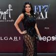 L'actrice égyptienne Rania Youssef sur Instagram en 2018. Elle portait une robe Elizabea Franky lors de la clôture du festival du Caire, le 29 novembre