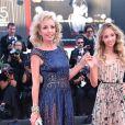 """La princesse Camilla de Bourbon des Deux-Siciles et sa fille la princesse Chiara de Bourbon des Deux-Siciles - Montée des marches de la première du film """"Vox Lux"""" lors du 75ème festival du film de Venise, la Mostra le 4 septembre 2018."""