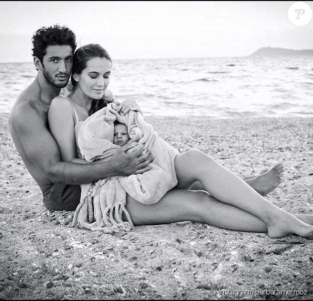 Barbara Mermoz annonce sa rupture avec son mari Maxime Mermoz sur Instagram le 4 décembre 2018.