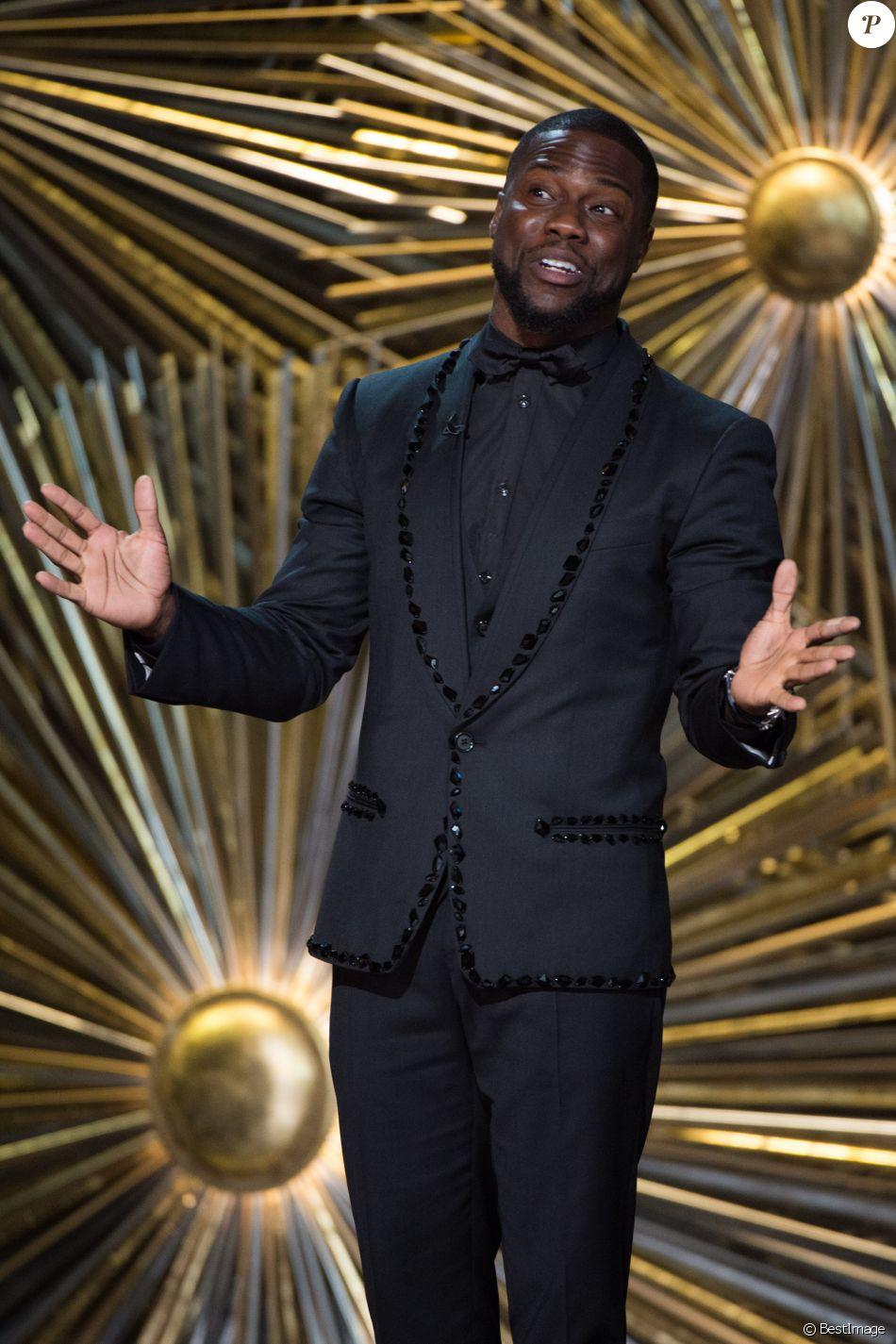 Kevin Hart - 88ème cérémonie des Oscars à Hollywood, le 28 février 2016.