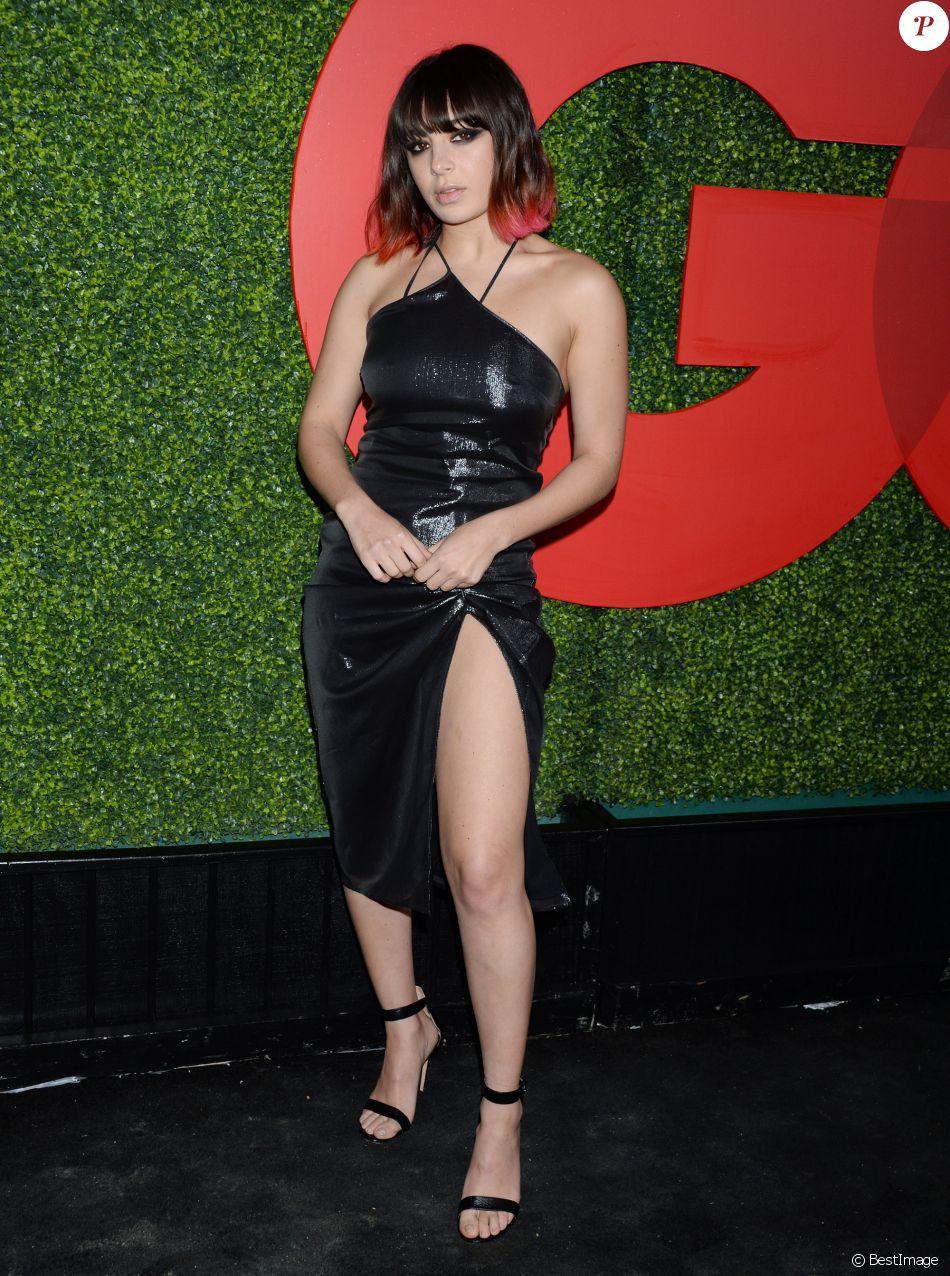 """Charli XCX - Soirée des """"GQ Men Of The Year 2018"""" à l'hôtel Beverly Hilton à Beverly Hills. Los Angeles, le 6 décembre 2018."""