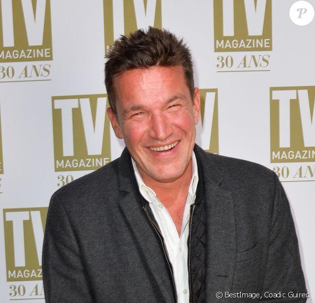 Exclusif - Benjamin Castaldi - Soirée d'anniversaire des 30 ans de TV Magazine au Pavillon des Champs-Elysées à Paris le 17 octobre 2017. © Coadic Guirec/Bestimage