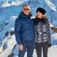 """Daniel Craig et Léa Seydoux - Photocall avec les acteurs du prochain film James Bond """"Spectre"""" à Soelden en Autriche. Le 7 janvier 2015"""