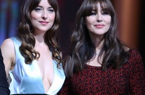 Dakota Johnson décolletée face à Monica Bellucci au Festival de Marrakech