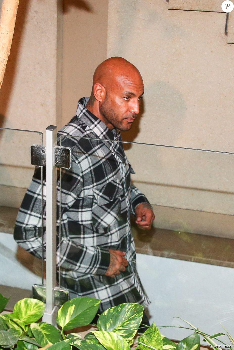 Booba, de son vrai nom Élie Yaffa - Les rappeurs Kaaris et Booba, ainsi que neuf autres prévenus, ont été jugés ce jeudi devant le tribunal correctionnel de Créteil pour violences aggravées et vols en réunion après leur bagarre à Orly le 1er août dernier le 6 septembre 2018.