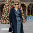 Jennifer Lopez au Palace Hotel à New York, le 12 décembre 2018