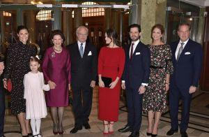 Silvia de Suède : La famille royale réunie pour ses 75 ans, Estelle aux anges