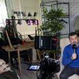 Exclusif - Rendez vous avec Stéphane Plaza à l'occasion de son interview donnée pour Pure People dans les locaux de Webedia à Levallois Perret. Le 17 décembre 2018 © Pierre Perusseau / Bestimage
