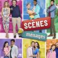 """Les six couples de la série """"Scènes de ménages"""" (M6)."""