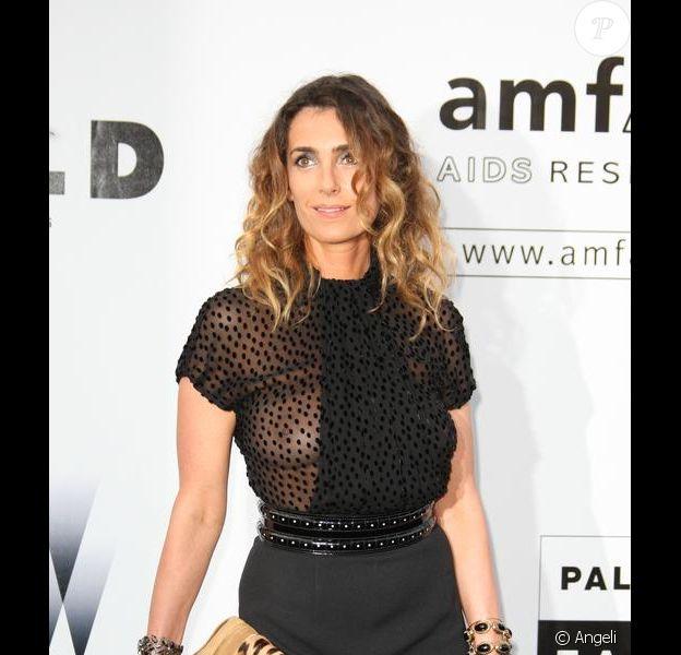 Mademoiselle Agnès au gala de l'amfAR. 21/05/09